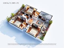 Global House Plans Floor Plans Of Central Park Flower Valley Gurgaon Sector 32 33