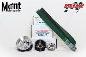 cadillac cts v pulley upgrade cts v pulley kit mont motorsports