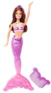 amazon barbie pearl princess mermaid doll purple toys