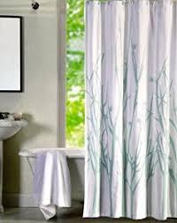Luxury Shower Curtain White Cotton Tahari Luxury Cotton Blend Shower Curtain Printemps Gray Aqua Sage