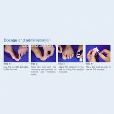 loceryl 2 5ml nail lacquer toenail fungal infection amorolfine