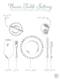 water glasses on table setting place settings 101 how to decorate
