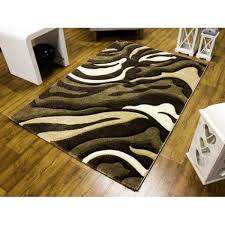 Beige Runner Rug 3862 Brown And Beige Modern Runner Rug