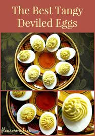 how to make tangy deviled eggs