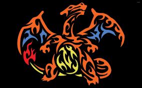 tribal charizard pokemon wallpaper game wallpapers 47398