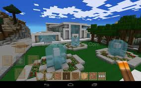 nice inspiration ideas modern house minecraft pe 13 house designs