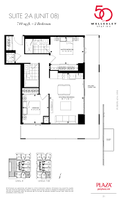 zia homes floor plans 50 wellesley condos toronto floor plans plaza corp