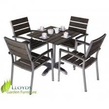 Steel Patio Chairs Stainless Steel Patio Furniture Sets Foter