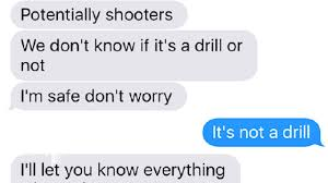 Text Messages Show Horror Inside - as the parkland students hid from the shooter these are the text