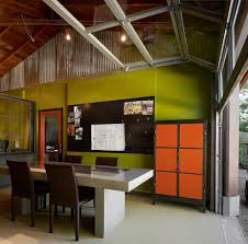 interior design ideas home office contemporary with sloped ceiling