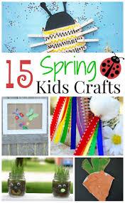 fun spring kids crafts