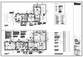 site plan working drawing