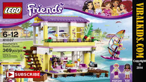 lego friends stephanie beach house 41037 review video dailymotion