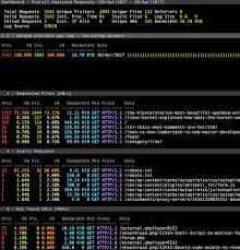 http access log analyzer how to install goaccess web log analyzer with nginx on linux or