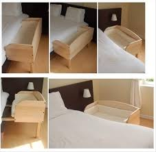 Baby Crib Side Bed Side Bed Crib White Bed