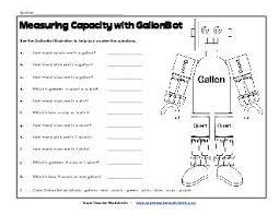 Gallon Worksheet 18 Best Gallon Quart Pint Cup Images On Teaching Ideas