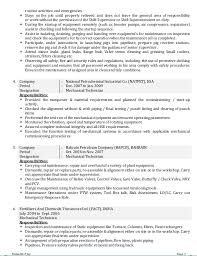 Resume Examples For Oil Field Job by Cv Oil And Gas Field Operator Nishanth P Joy