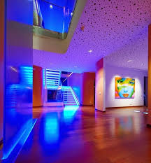 led interior home lights blue led ceiling lights your home environment different