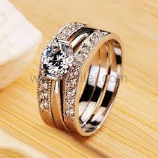 Wedding Rings For Women by Gold Wedding Rings For Her White Gold Nscd Diamond Engravable