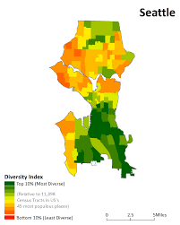 Seattle City Limits Map by A City Can Be Diverse But Its Neighborhoods May Still Not Be And
