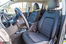 gmc terrain back seat 2015 gmc canyon sle 4x4 v6 review full size experience mid size