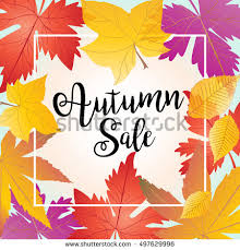 autumn sale sale discount fall sale maple leaves background