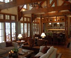 beautiful log home interiors beautiful log cabin dining rooms homes lodges pinterest