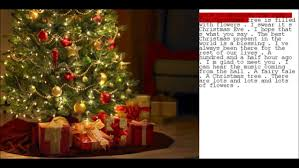 listen to this holly jolly and a little creepy a i penned