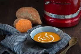 patate douce cuisiner soupe de patate douce au lait de coco cuisine addict cuisine