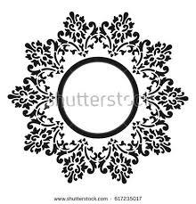 vector round ornament stock vector 209894506 shutterstock