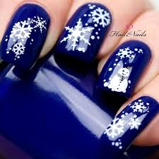 best christmas winter nail art designs acrylic nail designs