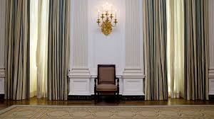 Wallpaper Designs For Dining Room A 590 000 Makeover For The White House U0027s State Dining Room La Times