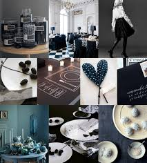 dark and delightful black and white candy buffet principles in
