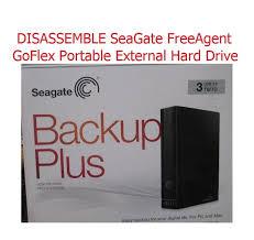 Seagate Freeagent Desk Driver How To Open Seagate Freeagent Goflex Case Youtube