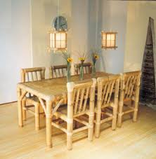 bamboo dining room table bamboo dining room furniture
