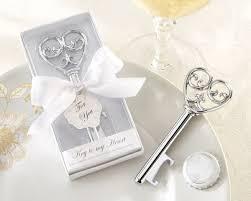 wedding bottle openers key to my heart bottle opener key shaped wedding favor by kate aspen