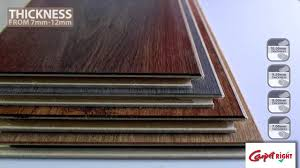 thickness of laminate flooring akioz com