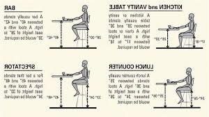 kitchen island stool height typical bar stool height stools average breakfast standard table cm