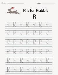 kindergarten worksheets printable tracing worksheets alphabet r