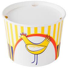 food buckets paper buckets chicken buckets