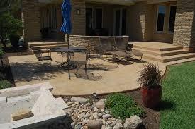 Concrete Decks And Patios Concrete Patios Options And Designs Sundek Concrete Coatings
