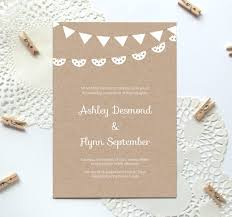 rustic wedding invitation templates 10 free wedding invitation templates