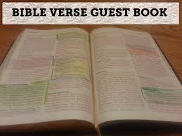 Wedding Sign In Book Bible Verse Wedding Guest Book Tidbits