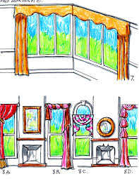 hanging valances curtains and drapes on different kinds of