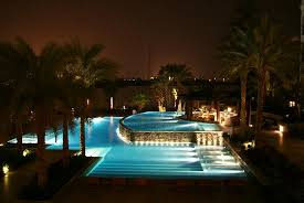 Pool At Night The Pool At Night Picture Of Hilton Luxor Resort U0026 Spa Luxor