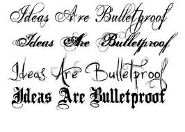 lettering tattoo art and designs page 32