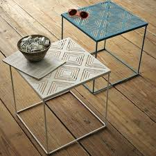 outdoor furniture side table outdoor wood side table metal square outdoor side table small