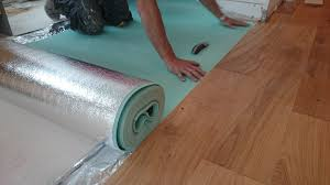 laminate flooring insulation underlayment