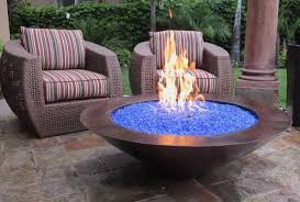 Large Fire Pit Ring by Fire Pits