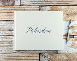 engraved wedding album custom wedding album etsy
